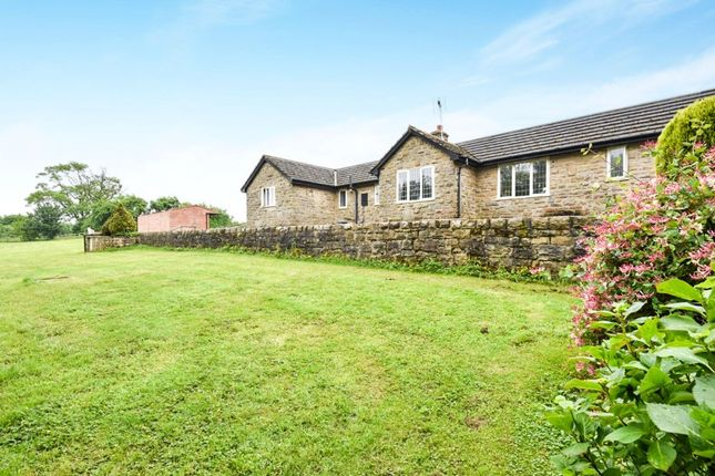 Thumbnail Bungalow for sale in Badgers Holt, Hunger Hill Lane, Parish Of Ashover, Chesterfield, Derbyshire