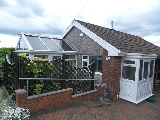 Thumbnail Detached bungalow to rent in Bro Dedwydd, Dunvant, Swansea