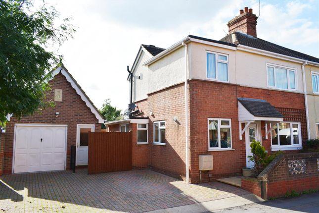 Thumbnail Semi-detached house for sale in Livingstone Road, Newbury