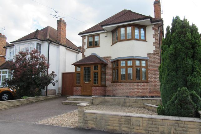 Thumbnail Detached house for sale in Narborough Wood Park, Desford Road, Enderby, Leicester