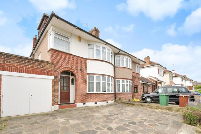 Thumbnail Semi-detached house for sale in St. Michaels Crescent, Pinner