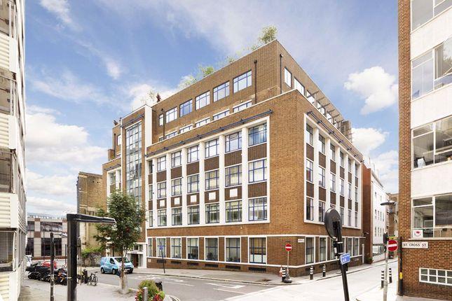 Thumbnail Flat to rent in Saffron Hill, London