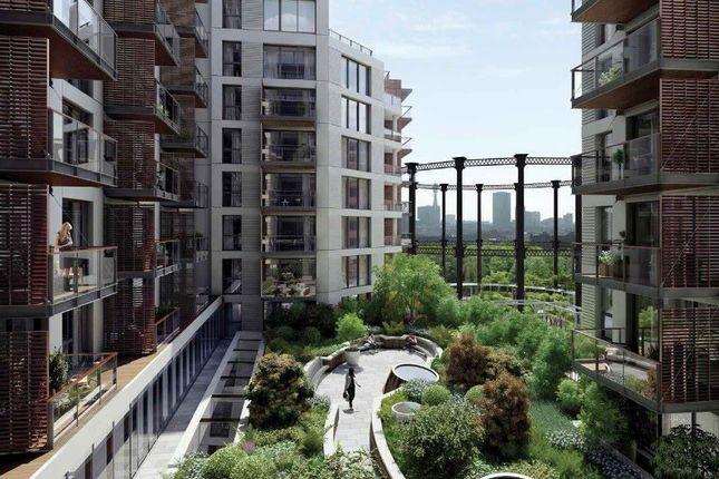 Thumbnail Flat to rent in Handyside Street, London