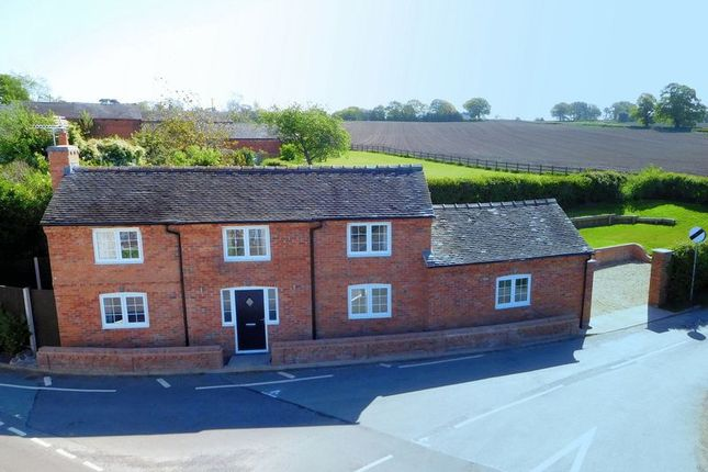 Thumbnail Detached house for sale in Green Lane, Audlem, Crewe
