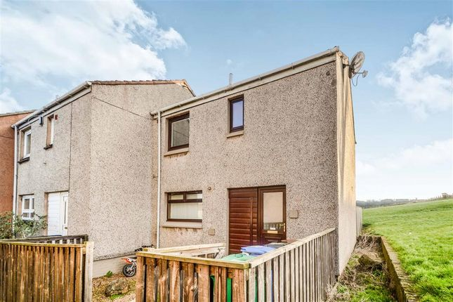 Thumbnail End terrace house for sale in Hudson Road, Rosyth