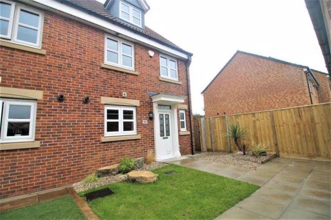 Thumbnail Semi-detached house for sale in Kenwood Crescent, Ingleby Barwick, Stockton