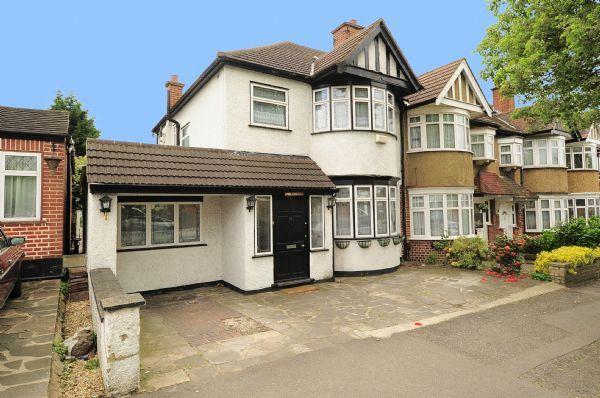 Thumbnail End terrace house to rent in Victoria Road, Ruislip Manor, Ruislip