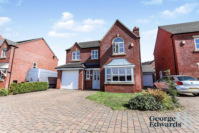 Thumbnail Detached house for sale in Towers Drive, Hinkley