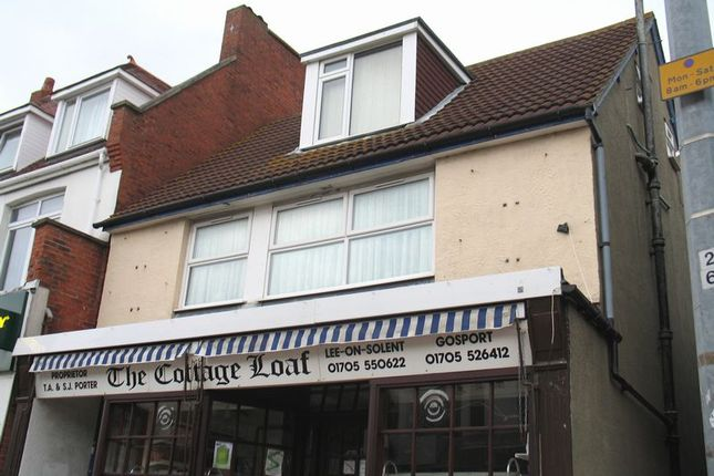 Thumbnail Flat to rent in High Street, Lee On The Solent, Hampshire