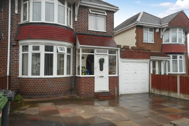 Thumbnail Semi-detached house for sale in Ribbesford Avenue, Oxley, Wolverhampton