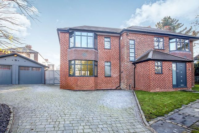 Thumbnail Detached house for sale in Old Hall Road, Gatley, Cheadle