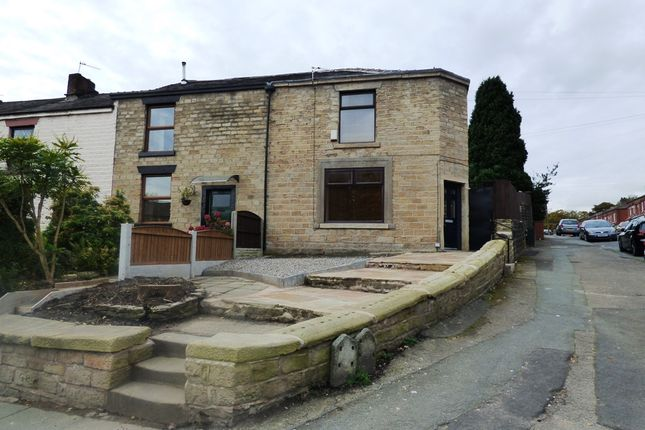 Thumbnail End terrace house to rent in Blackburn Road, Astley Bridge, Bolton