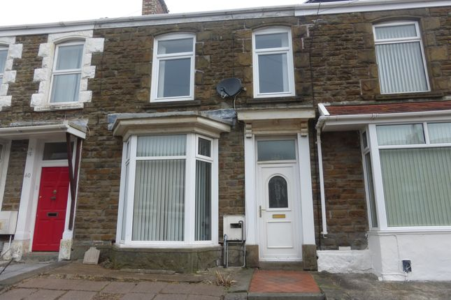 Thumbnail Terraced house for sale in Rhondda Street, Mount Pleasant, Swansea