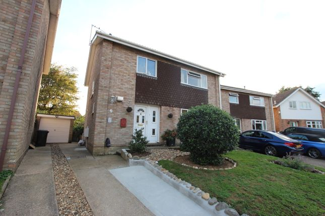 Thumbnail Detached house for sale in Pine Close, Brantham, Manningtree