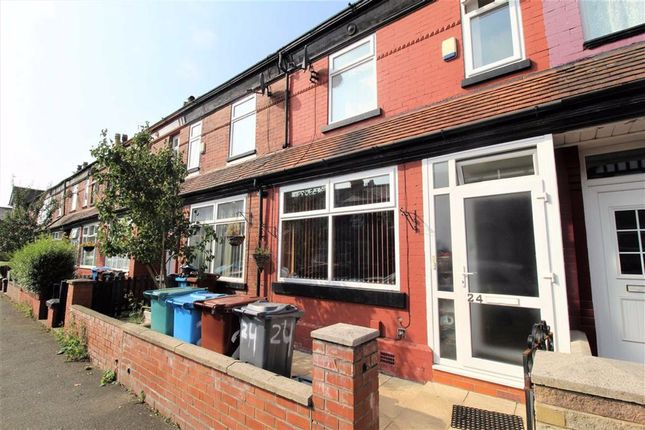 Outside of Fairbourne Road, Levenshulme, Manchester M19
