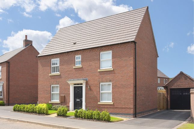 "Thumbnail Detached house for sale in ""Hadley"" at Beggars Lane, Leicester Forest East, Leicester"