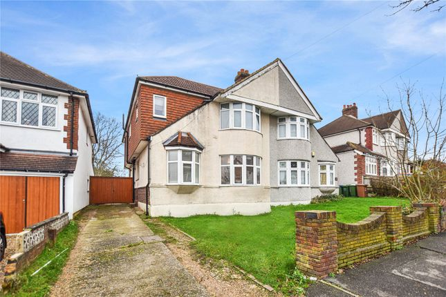Front Aspect of Carisbrooke Avenue, Bexley, Kent DA5