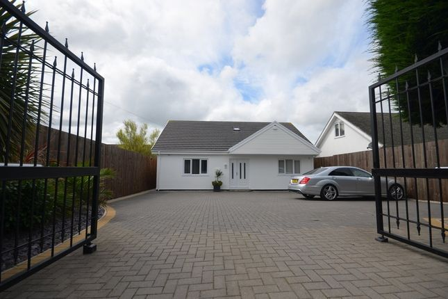 Thumbnail Detached house for sale in Church Road, Shortlanesend, Truro