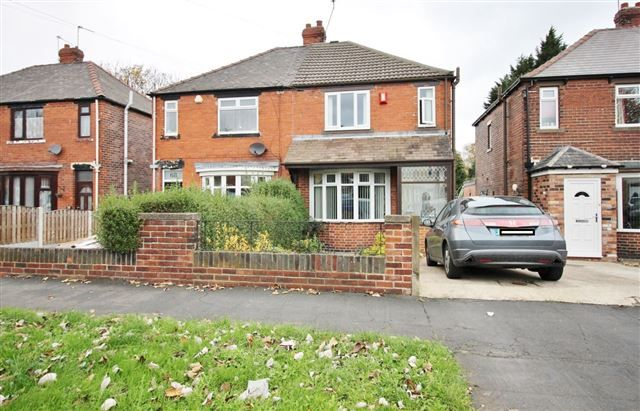 Front of Handsworth Avenue, Handsworth, Sheffield S9