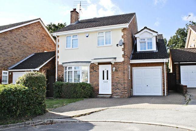 Thumbnail Detached house for sale in Saffron Close, Chineham, Basingstoke