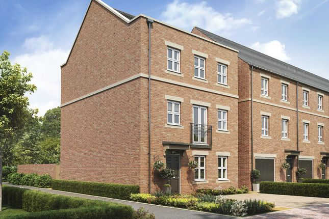 "Thumbnail Detached house for sale in ""Bucklebury"" at Hambridge Road, Newbury"