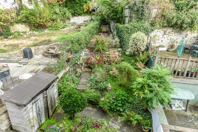 Rear Garden of Gordon Road, Widcombe, Central Bath BA2