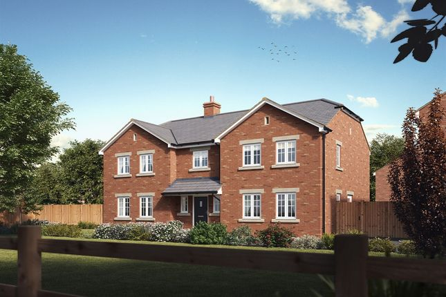 "Thumbnail Detached house for sale in ""The Bond "" at Ashford Hill Road, Ashford Hill, Thatcham"
