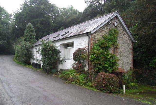 Thumbnail Cottage to rent in Pentrecwrt, Llandysul, Carmarthenshire