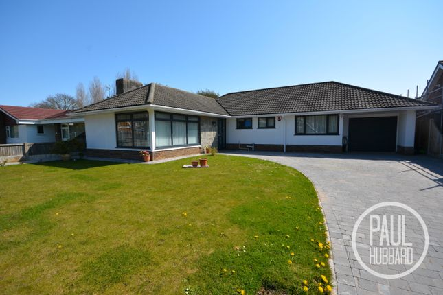Thumbnail Detached bungalow for sale in Kennedy Avenue, Gorleston-On-Sea, Norfolk