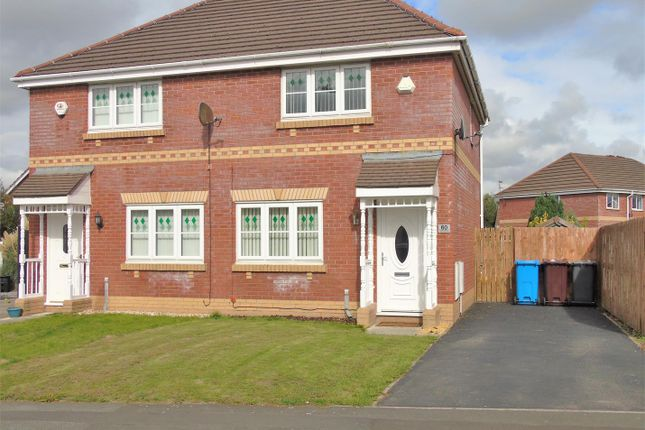 Thumbnail Semi-detached house to rent in Redwood Way, Kirkby, Liverpool