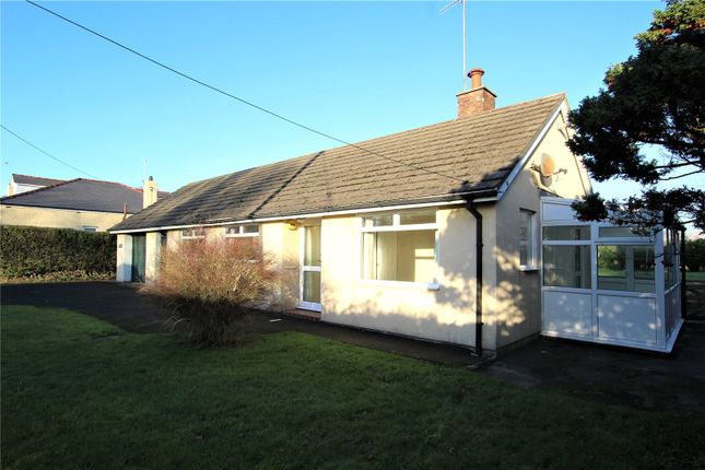Thumbnail Detached bungalow for sale in Delacres, Bootle Station, Millom, Cumbria