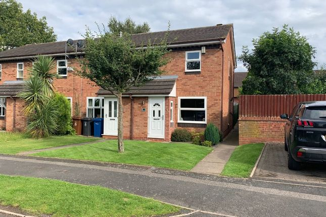Thumbnail End terrace house for sale in Lawford Avenue, Lichfield