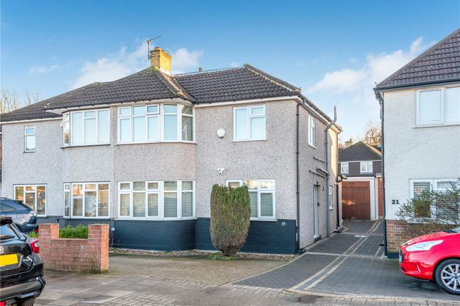 Thumbnail Semi-detached house for sale in Shepperton Road, Petts Wood, Orpington