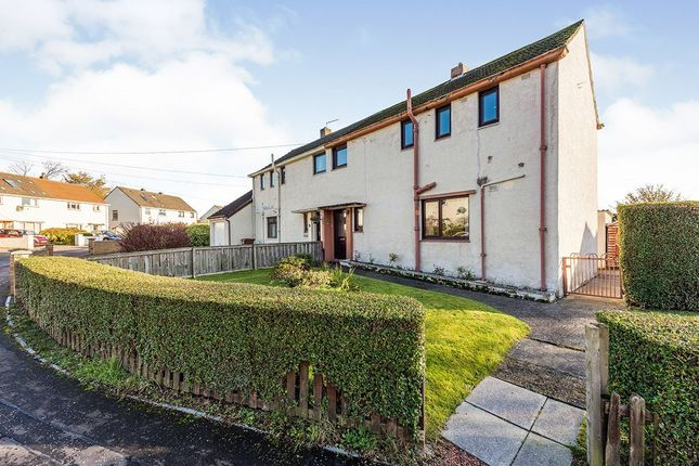 Thumbnail Semi-detached house for sale in Brankholm Lane, Rosyth, Dunfermline, Fife