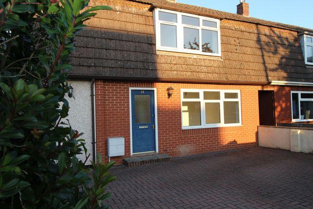 Thumbnail Detached house to rent in Haymans Close, Cullompton, Devon