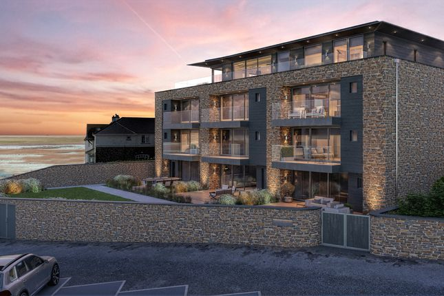 Thumbnail Flat for sale in Crooklets, Bude