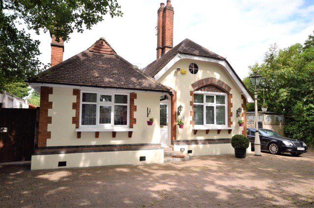 Thumbnail Detached bungalow for sale in Brookshill, Stanmore