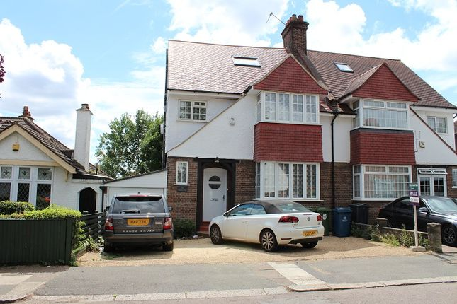 Thumbnail Semi-detached house to rent in The Meadow Way, Harrow Weald
