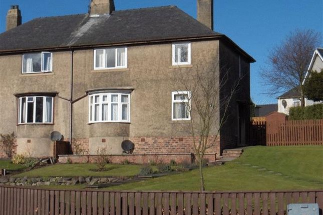 Thumbnail Semi-detached house to rent in Croft Crescent, Markinch, Fife