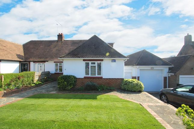 Thumbnail Bungalow for sale in Briton Hill Road, Sanderstead Village, South Croydon