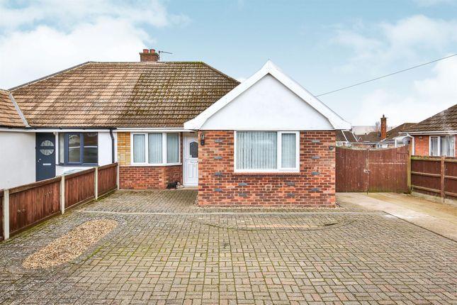 Thumbnail Semi-detached bungalow for sale in Saracen Road, Hellesdon, Norwich