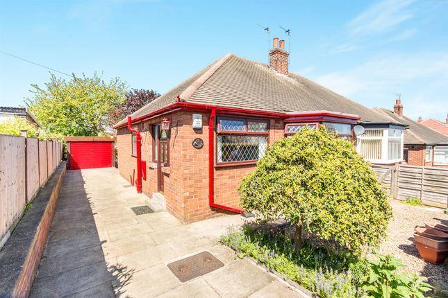 Thumbnail Semi-detached bungalow for sale in Woodland Road, Halton, Leeds
