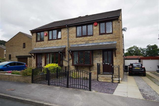 Thumbnail Semi-detached house for sale in Bentley Mount, Off Willow Hall Lane, Sowerby Bridge