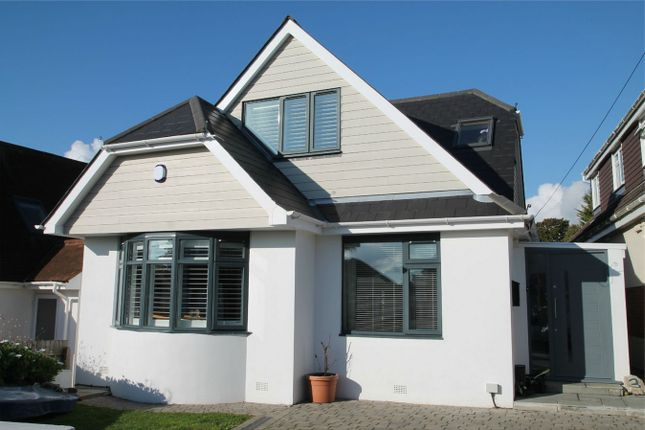 Thumbnail Detached house for sale in Woodstock Road, Whitecliff, Poole, Dorset