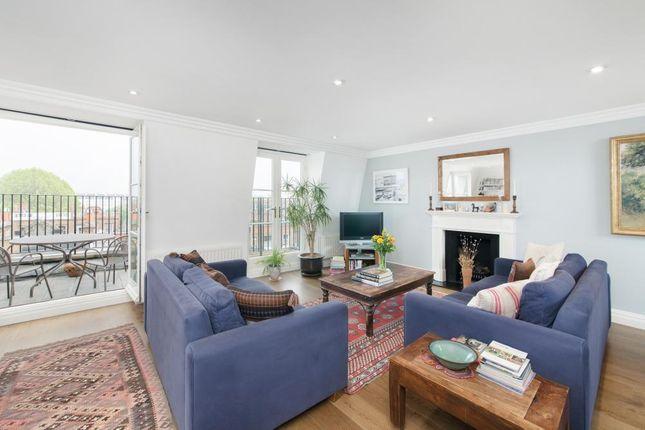 Reception Room of Bina Gardens, London SW5