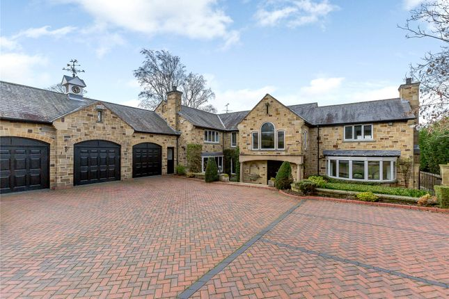 Thumbnail Detached house for sale in Ten Firs, Rigton Bank, Bardsey, Leeds, West Yorkshire
