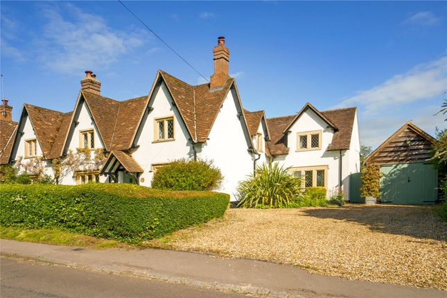 3 bed semi-detached house for sale in Compton Bassett, Calne, Wiltshire SN11