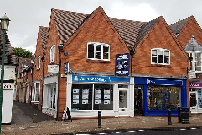 Thumbnail Retail premises to let in 1685 High Street, Knowle, Solihull