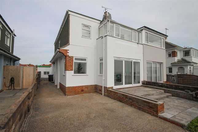 Thumbnail Semi-detached house to rent in Brighton Road, Worthing