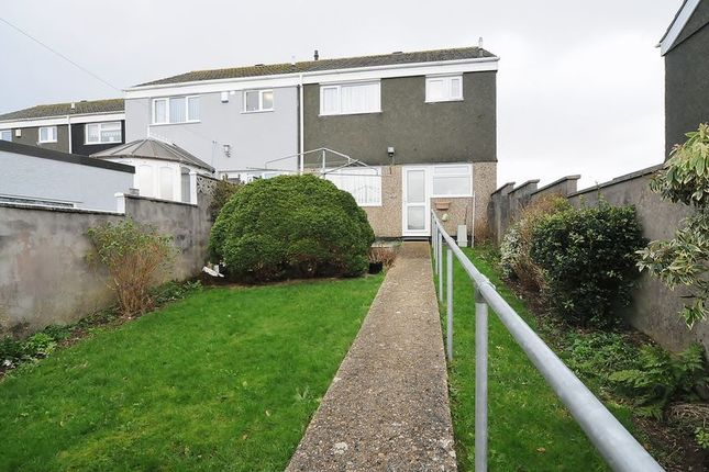 Thumbnail End terrace house for sale in Thurlestone Walk, Plymouth